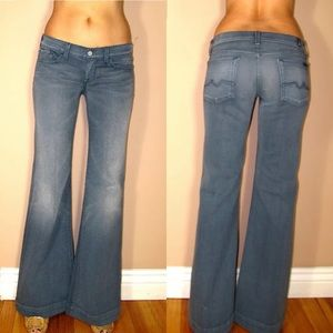 🆕 7 For All Mankind Ginger Flare Wide Leg Jeans